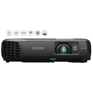 """""""Features & Benefits"""" Epson EX5220 Wireless XGA 3LCD Projector, 3000 lumens (V11H551020)"""