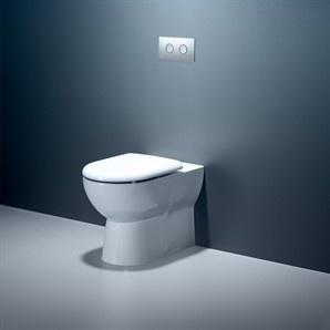 Caroma Metro Invisi 2 Toilet Suite - Bunnings Warehouse