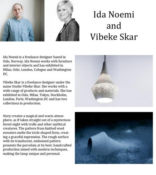 Ida Noemi and Vibeke Skar