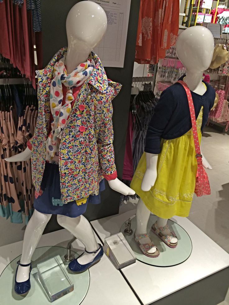 #Jersey Kids #Mannequins in John Lewis New store in York, Opened April 2014. www.panachedisplay.co.uk