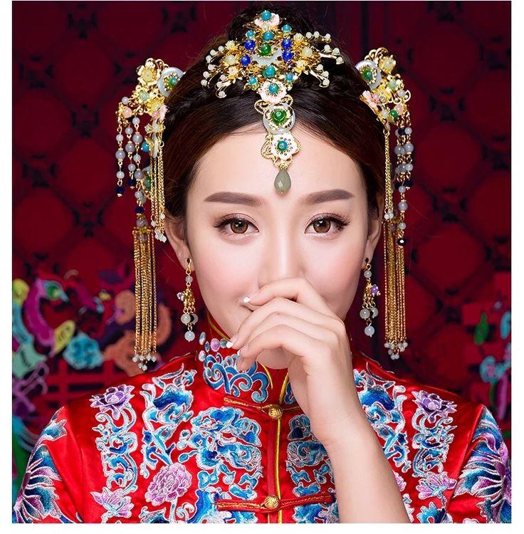 65 mejores imágenes de Traditional bridal en Pinterest | Novia china ...