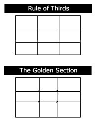 The Basics of Landscape Composition: Rule of Thirds, Golden Section.