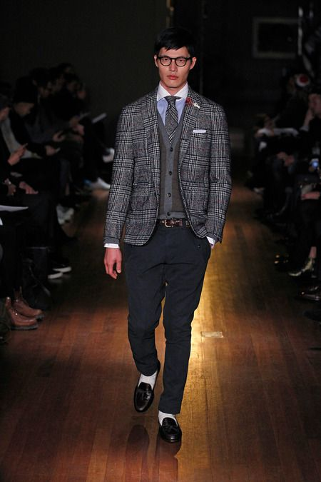 Michael Bastian Fall-Winter 2014 Men's Collection