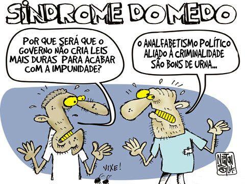Impunidade prolifera no Brasil...Analfabetismo Político aliado à criminalidade... são muito bons de urna eleitoral...