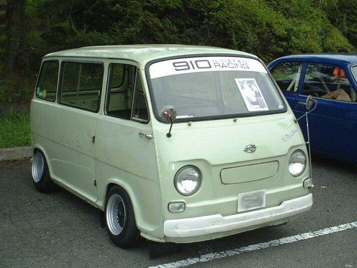 Subaru Sambar van | Lowered, Stance, JDM