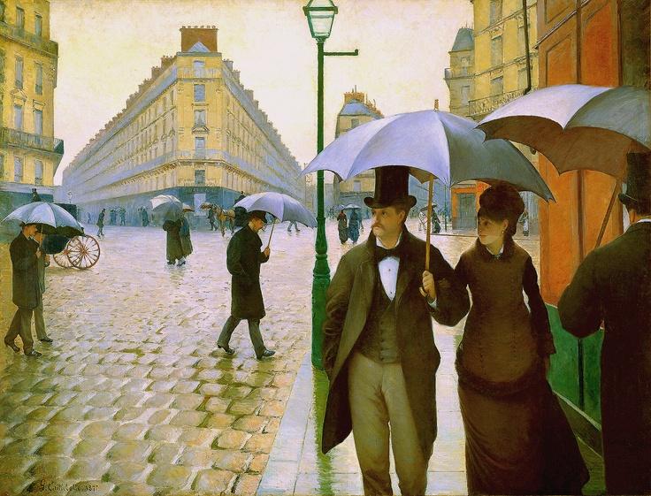 파리, 비오는 날 - 구스타브 카유보트