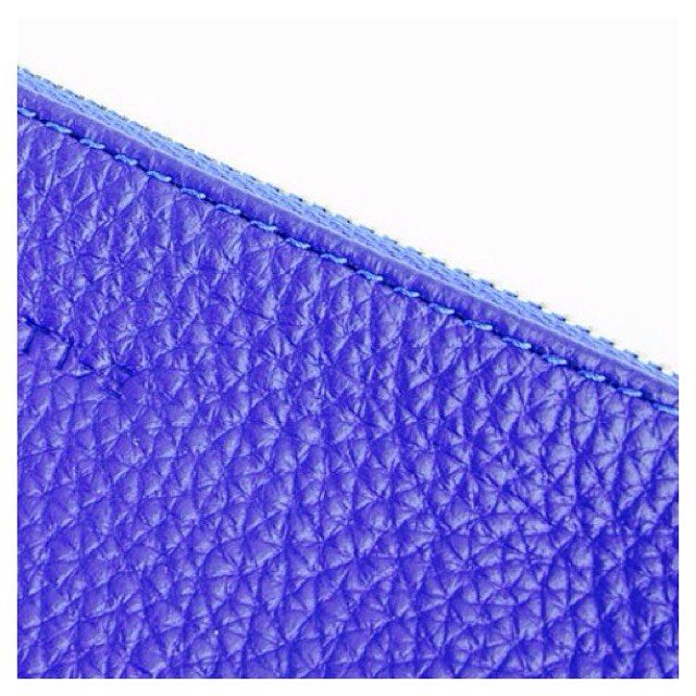 Coming soon ~ Blue pouch ~ available in 3 sizes @minutiae_au #minutiae #inthedetails #pouch #bag #blue #leather www.minutiae.com.au