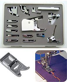 Какие бывают лапки для швейных машин / Шитье / Рукоделие