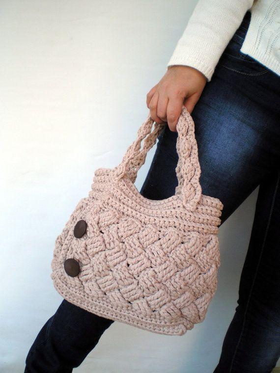 Chess Fashion  Crochet Purse Handmade OOAK crochet by GiuliaKnit, $75.00