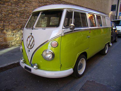 Volkswagen Transporter Bulli Kombi T1 by gipiosio, via Flickr
