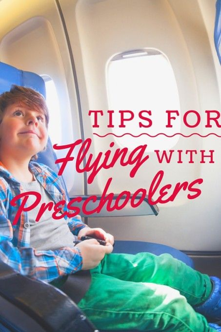 Tips for flying with preschoolers