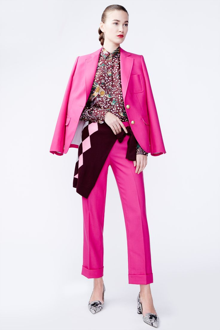J.Crew women's fall/winter 2016 collection. Love the shoes, and pants proportion