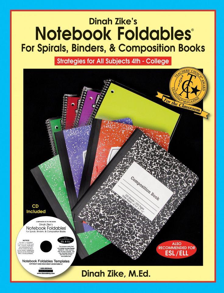 Dinah zikes notebook foldables for spirals binders
