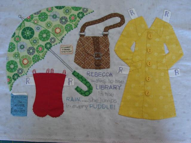 dream quilt create: Paperdoll blocks