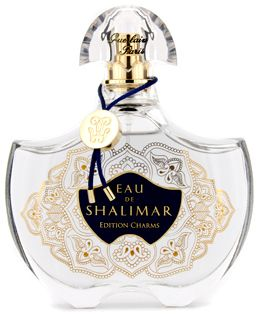 Eau de Shalimar Edition Charms Guerlain for women. Top notes are lime, bergamot and orange; middle notes are vanilla, jasmine and rose; base notes are vanilla and iris.