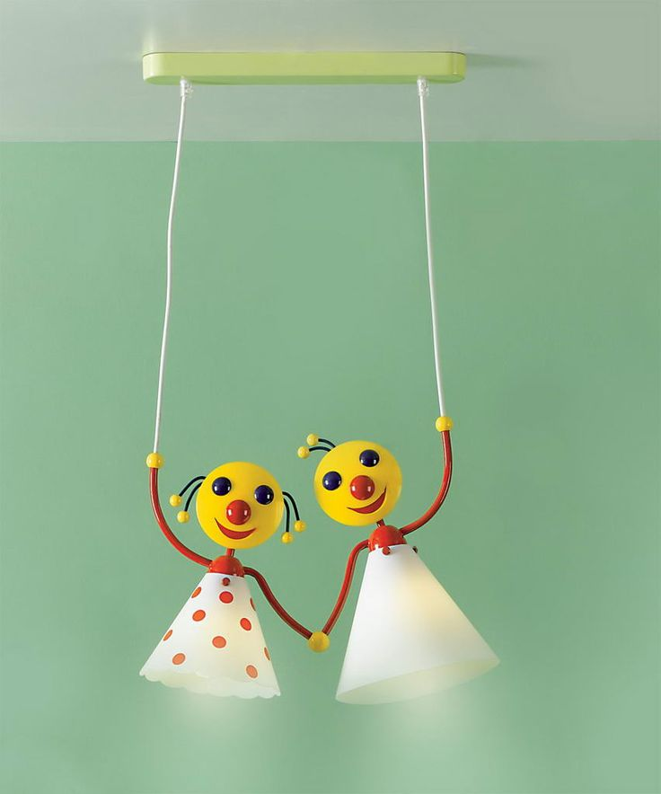 Child's room lamp with a decorative heart that permit to make someone happy. by #Platinlux