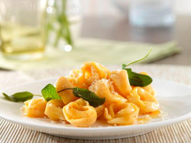 Barilla Three Cheese Tortellini In Sage Brown Butter Sauce Recipe Barilla Tortellini Recipes Tortellini Pasta Dinner Recipes