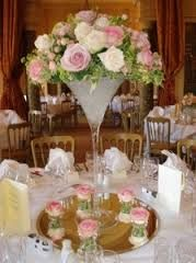 tall cream rose centrepiece - Google Search