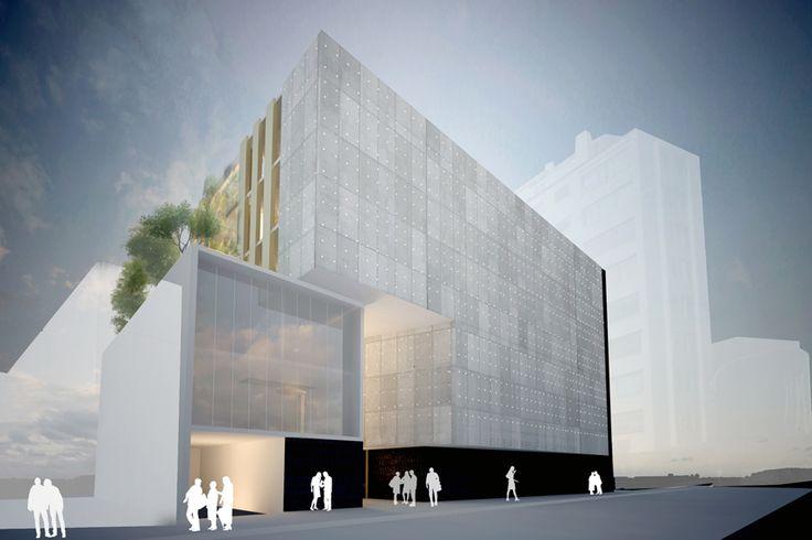 Nuevo Edificio Escuela Ingeniería Bioquímica, PUCV / Dirección de Infraestructura