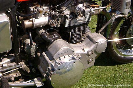 Munch 4TTS NSU 1200cc 4-Cylinder Motor
