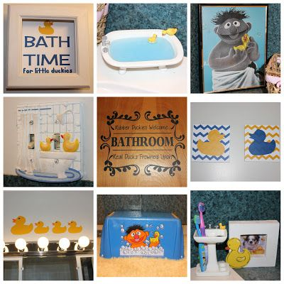 Charming Rubber Ducky Bathroom!
