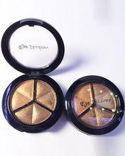 LEARNEVER Smoky Cosmetische Set 3 Kleuren Professionele Natuurlijke Matte Eyeshadow Make Oogschaduw Palet Naakt Oogschaduw Glitter(China)