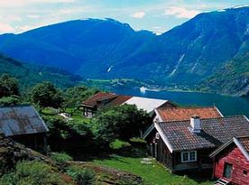 Norway fjord cabins