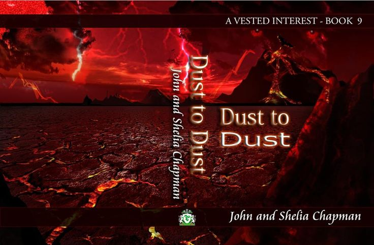 This is what we expect the cover of our next book 'Dust to Dust' to look like. Again the artwork is by our son, Adam.