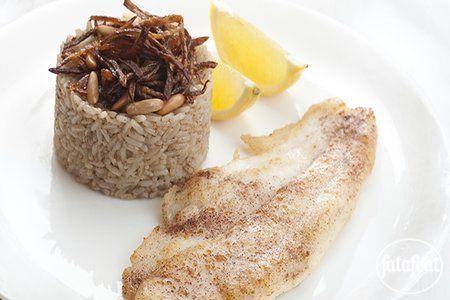 LEBANESE RECIPES: Sayadieh Fish Recipe