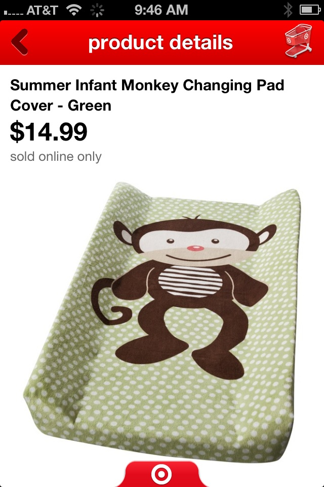 Changing pad cover 2