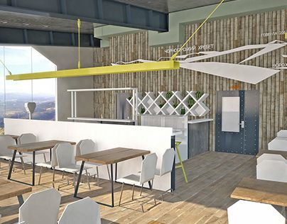 "Check out new work on my @Behance portfolio: ""cafe on start point of ski jump"" http://on.be.net/1M3XlxM"