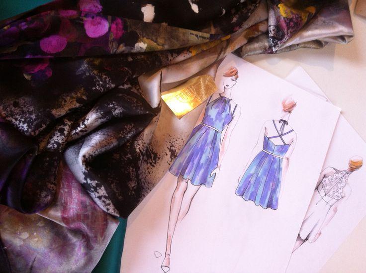 #fibula #fibuladesign #fibulafashion #fashionillustration #illustration #fabric #custommade #design #happyworktime