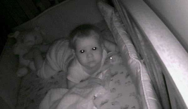 A Hebron couple were terrified when a hacker hijacked their baby's monitor in the middle of the night.
