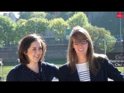 Northwood University  Megan and Hilary, two American exchange students from Michigan, introduce their home university : Northwood University