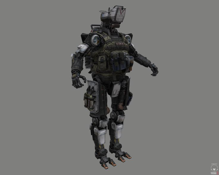 Titanfall Spectre | Titanfall, Power armor, Robot design