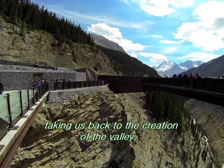 the Glacier skywalk, Jasper National park