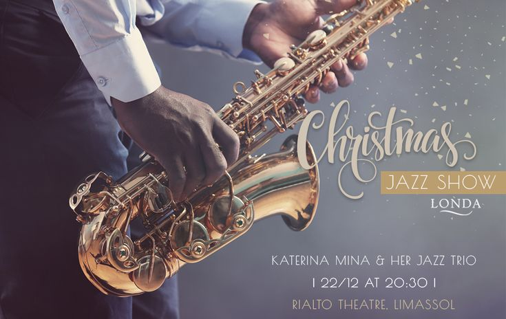 The amazing Katerina Mina & her Jazz Trio Yiannis Hadjiloizou (Piano), Giorgos Krasidis (Saxophone) & Irinaeos Koullouras (Double bass) will initiate us in the #Christmas Spirit with a Seasonal #Jazz #Show, which will be held at #Rialto #Theatre on 22/12 at 20:30!  Katerina & her Jazz Musicians will present a unique programme with some of the most famous Xmas songs by prolific Jazz composers to give! It's a show that's worth attending! #LondaHotel #LondaBeachHotel