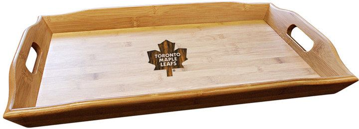 NHL Toronto Maple Leafs Bamboo Serving Tray