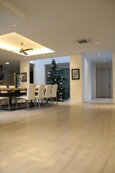 poliched concrete flooring