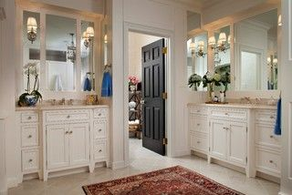 classic comfort - traditional - bathroom - philadelphia - by Diane Burgoyne Interiors