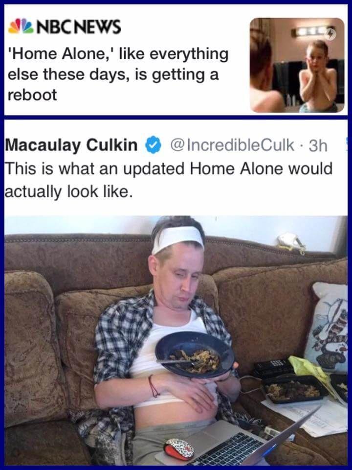Kevin Allein Zu Haus Wird Neu Gemacht Und Original Darsteller Macaulay Culkin Zeigt Direkt Mal Wie Das Ausse Allein Zu Hause Kevin Allein Zu Haus Darsteller
