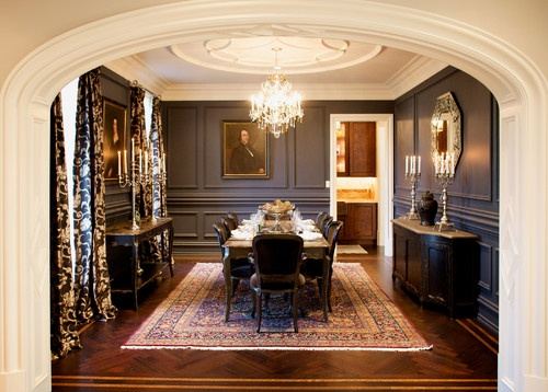 Love This Formal Dining Room Semerjian Interiors Main Line Residence