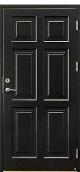 Ytterdörr Ascot 300 Tillval: Kulör svart