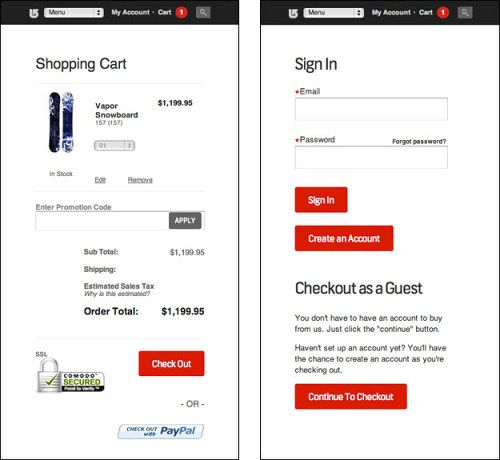 Designing A Better Mobile Checkout Process
