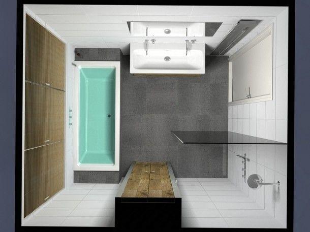 Badkamer idee voor kleine badkamer Door Inge88