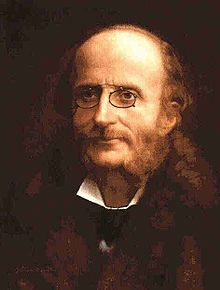 """Jacques Offenbach, 6/20/1819-10/5/1880, composer of opera, Tales Of Hoffmann, which contains the bacarolle SH """"plays"""" while Negretto is talking to Sam in MAZA"""