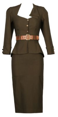vintage style jacket skirt Stop Staring! Clothing