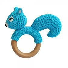 Image result for Crochet baby Rattle