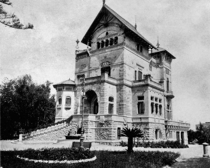 Villa Florio - Costruita tra il 1899 e il 1900 è un capolavoro in stile Liberty dell'architetto Ernesto Basile.