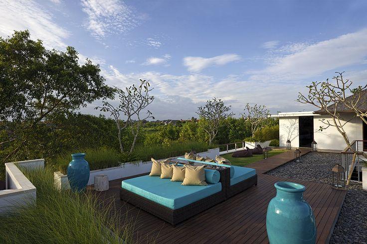 Outdoor lounge - Villa Cendrawasih Bali  http://prestigebalivillas.com/bali_villas/villa_cendrawasih/50/live_availability/